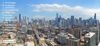 Map River North Chicago by River North U0027s Best Apartment Towers U2013 Views U2013 Yochicago