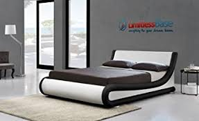new contemporary italian faux leather ottoman designer storage bed