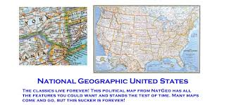 map us hwy u s highway wall map by national geographic paper laminated or