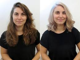 hairstyle makeovers before and after see before after hairstyles from the lounge soho london s top hair