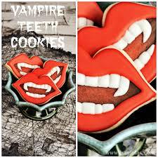 haniela u0027s vampire teeth cookies