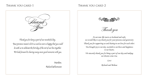 wedding gift thank you wording wedding thank you cards fascinating wedding thank you card