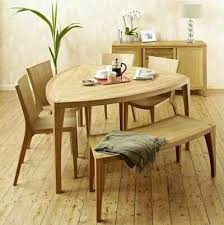 Triangle Dining Table With Bench 9 Best Home Dining Room Furniture Images On Pinterest Dining