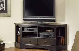 tv corner oak tv stands clearancecorner with wheels walmart wood