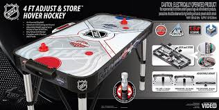 nhl premium 84 attacker hover air hockey table amazon com nhl 48 inch adjust store hover hockey table sports