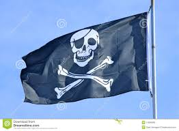 Pirate Flags For Sale Pirate Flag Stock Image Image Of Background Danger 14096589
