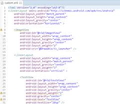 android textview layout gravity java android 안드로이드 아주중요 custom adapter 사용자정의 adapter