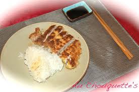 cuisiner japonais porc tonkatsu cuisiner japonais pas à pas au chouquette s