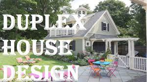 What Is A Duplex House by Duplex House Design Ideas Youtube