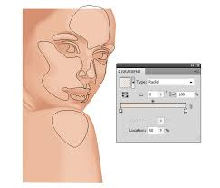 vector skin tone tutorial creating a vector portrait with curly hair in adobe illustrator