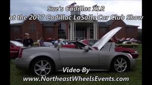 gmc lasalle sue u0027s cadillac xlr at the 2017 cadillac lasalle car club show