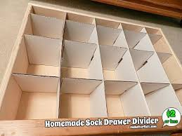 sock drawer divider simply brilliant diy and crafts