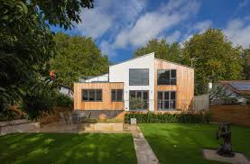 an environmentally friendly wood clad uk home design milk