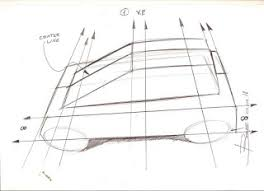 simple rules to draw a car sketch in top view u2013 www lucianobove com