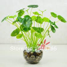 decor plants home 2018 wholesale plastic flowers fake grass simulation leek artificial