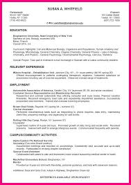 Microbiologist Sample Resume by 12 Sample Cv For Students In College