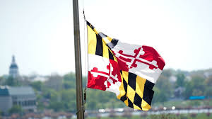 Blue White And Sun Flag Hogan Joins In Flap Over State Flag Baltimore Sun