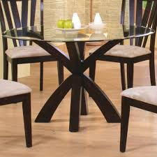 Round Glass Dining Room Table Sets 10 Best Round Glass Dining Tables Images On Pinterest Glass