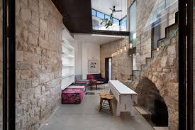 stone house conversion by henkin shavit architecture u0026 design