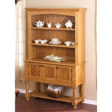 How To Build A Buffet Cabinet by Woodworking Project Paper Plan To Build Classic Country Oak Hutch