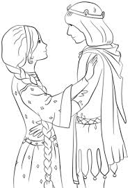 rapunzel prince coloring free printable coloring pages