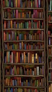 Bookshelf Background Image Iphone 5 Wallpaper Books For The Book Worms Iphone Pinterest