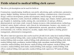 Billing Clerk Job Description For Resume by Top 10 Medical Billing Clerk Interview Questions And Answers