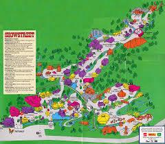 Map Of Universal Studios Theme Park Brochures Dollywood Theme Park Brochures