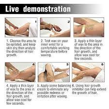 diy professional 100 natural brazilian hair removal wax beans