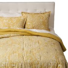 weekly deals in stores now threshold paisley comforter set yellow 79 99 target com on sale