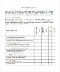 Free Survey Templates For Word by Client Satisfaction Survey Template An Excel Template For