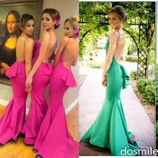 fuschia bridesmaid dress bridesmaid dresses green fuschia yellow 2016 junior