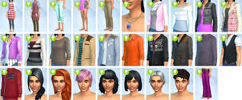 custom hair for sims 4 unique sims hair mods not showing sims custom content female