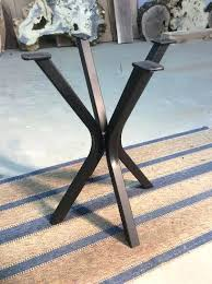 metal end table legs metal coffee table legs and bases coffee table legs and bases