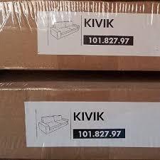 kivik sofa cover nip ikea kivik sofa cover ingebo lt brown discontinued 101 827 97