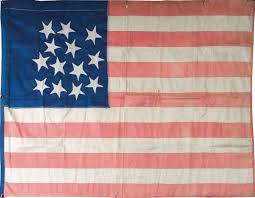 Did Betsy Ross Make The First American Flag Rare Flags Antique American Flags Historic American Flags