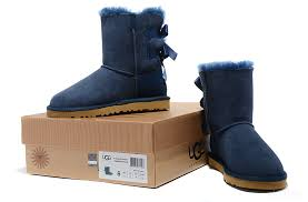 womens ugg boots navy ugg 1003280 limited edition bow bailey boots navy blue
