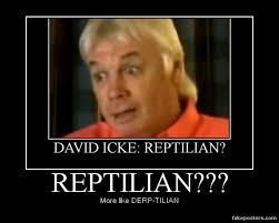 Reptilian Meme - david icke a reptilian dracomythos