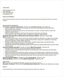 best banking resume templates 31 free word pdf documents