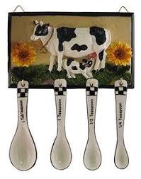 Cow Decor Cow Decor Dairy Cow Kitchen Decor Combo Set Cow Stuff