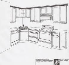 L Kitchen Ideas by L Shaped Kitchen Floor Plan Ideas U2013 Zonta Floor