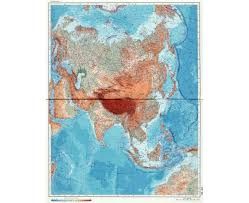 Asia Geography Map Maps Of Asia And Asian Countries Political Maps Road And
