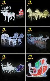 christmas decoration led lighting outdoor christmas reindeer