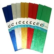 where to buy crepe paper sheets metallic crepe paper sheets each fold measures 500mm x 2 5m