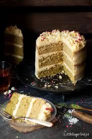 matcha cake with white chocolate mascarpone buttercream u0026 a tea