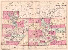 Map Of Utah by Utah State Maps