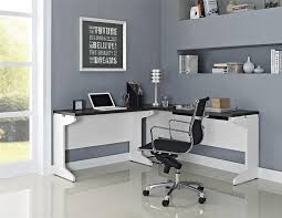 l shaped computer desk canada white l shaped computer desk cheap hollow core with frosted glass