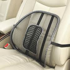 Massage Pads For Chairs Mesh Lumbar Back Brace Support Massage Pillow Cushion For Car