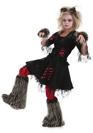 howlette werewolf costume ladies classic scary costumes