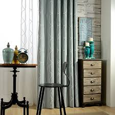 aliexpress com buy modern embroidery curtain for livingroom aliexpress com buy modern embroidery curtain for livingroom modern cotton vintage fabric curtains white linen printed sheer tulle window qql138 from